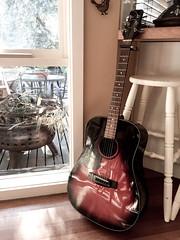 Study buddy - Explored (D.R.M.S.) Tags: victoria australia au guitar instrument acoustic samick capo
