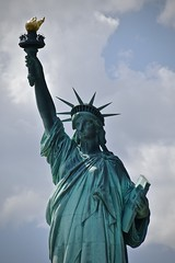 New Colossus (tim.perdue) Tags: nyc new york city vacation big apple metropolis urban manhattan hudson river water cruise circle line boat colossus emma lazarus statue liberty lady sculpture monument torch copper give me tired poor harbor bay