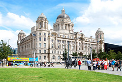 PORT OF LIVERPOOL BUILDING. (tommypatto : ~ IMAGINE.) Tags: liverpool thethreegraces pierhead architecture buildings