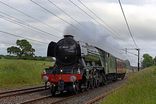 Flying Scotsman moves North