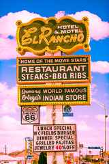 El Rancho (Thomas Hawk) Tags: elranchohotel gallup hotelelrancho newmexico route66 rte66 usa unitedstates unitedstatesofamerica motel neon restaurant fav10 fav25