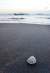 Kuta beach (MelindaChan ^..^) Tags: bali indonesia 印尼 巴里島 kuta beach sand shore chanmelmel mel melinda melindachan water wave boat coral life people