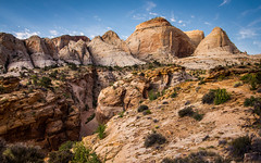 Capitol Dome (toddwendy) Tags: capitolreef nationalpark dome gorge canyon desert utah landscape west southwest