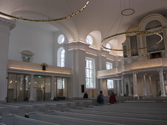 Side gallery and organ, Gothenburg Cathedral, Sweden (Paul McClure DC) Tags: gothenburg göteborg sweden sverige scandinavia july2015 church historic architecture