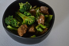 Vegan Beef and Broccoli (Vegan Butterfly) Tags: vegetarian vegan food yummy tasty delicious supper meal dinner gardein beefless tips soy beef meat broccoli veggies vegetables green bowl