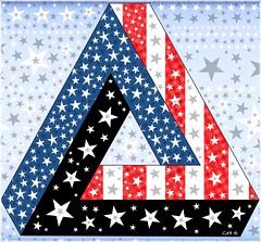 Stars And Stripes 2017 (antarctica246) Tags: independenceday summer holiday festive penrosetriangle redwhiteblue july4th starsandstripes stars antarctica246 percolatorapp explored