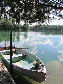Perth Road Village, ON - Paddle Boat on Draper Lake