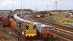 Workington 1982 (delticfan) Tags: workington shunter class08 class47 mgr merrygoround covhops