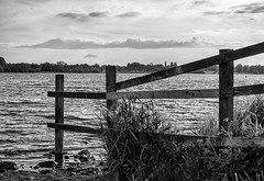 fence (davep90) Tags: pennington flash country park leigh wigan davep90 fuji landscape greenheart