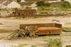 19920831 Hitchin. Unidentified BR 20T Open GRAMPUS ZBO, DB9835xx (15038) Tags: railways trains br britishrail wagon goods freight hitchin grampus zbo unidentified 20topen 9835xx