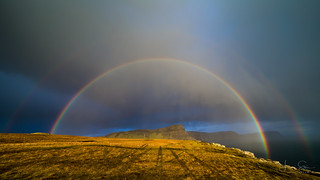 Somewhere Over The Rainbows, Neist Point, Isle Of Skye