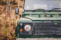 Land Rover Defender (AmBasteir) Tags: landroverdefender knoydart carfaces landrover