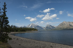 """Jackson Lake from Lakeshore Trail • <a style=""""font-size:0.8em;"""" href=""""http://www.flickr.com/photos/63501323@N07/34104585244/"""" target=""""_blank"""">View on Flickr</a>"""