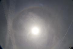 Solar Ring (brucetopher) Tags: solarring ring circle refraction refract light icecrystal sundog rainbow arch arc sky skies anomoly sun