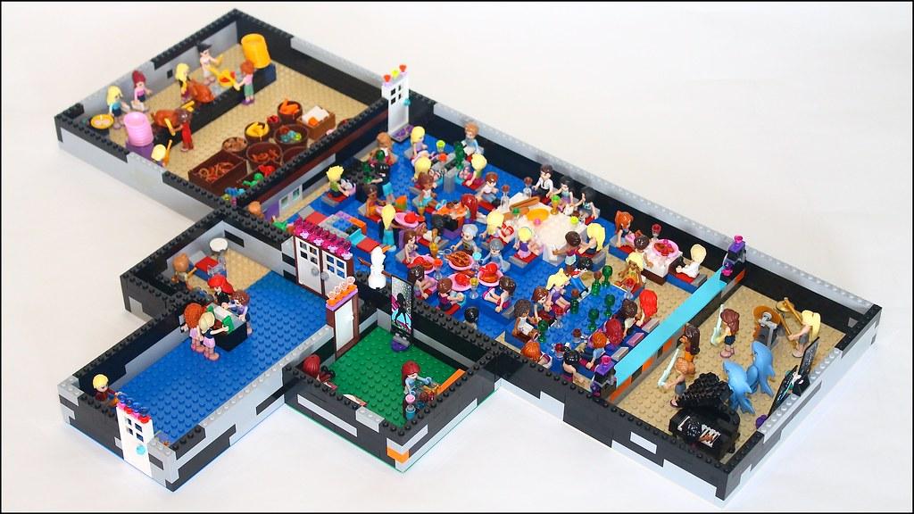 malvorlagen lego friends house