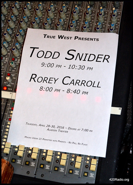 Rorey Carroll - Aladdin Theater, Portland, OR - 04/28/16