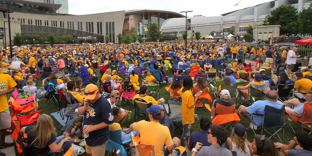 Preds Party in the Park 2