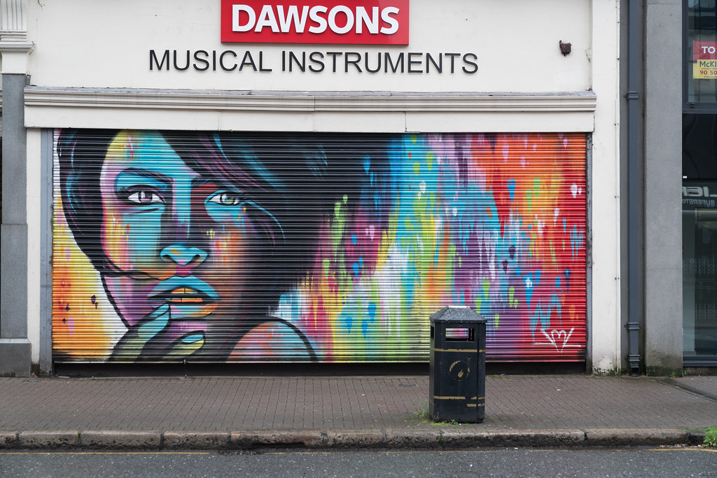 STREET ART AND GRAFFITI IN BELFAST [ANYTHING BUT THE FAMOUS MURALS]-129152