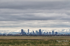 May 19, 2017 - The Mile High City capped in clouds. (Tony's Takes)