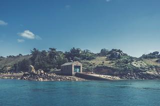 La maison de l'île