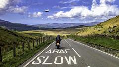 ARAF (bainebiker) Tags: a470wales araf clouds machloop motorcycle mountains road sky typhoon bmwk1300s canonpowershotg10 llanfachreth gwynedd walesuk bobbaines