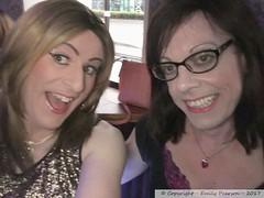 May 2017 - Hull weekend with Gemma - Saturday night out (Girly Emily) Tags: crossdresser cd tv tvchix trans transvestite transsexual tgirl tgirls convincing feminine girly cute pretty sexy transgender boytogirl mtf maletofemale xdresser gurl hull fuel propaganda glasses