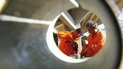 Teatrao-52claudio (Prefeitura de São José dos Campos) Tags: obrateatrão funcionáriourbam emprego trabalhador pedreiro construção claudiovieira
