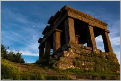 Temple du Donon - Vallée de la Bruche - Bas Rhin (jamesreed68) Tags: temple romain grandfontaine bruche alsace 67 nature historique patrimoine paysage ciel donon vosges basrhin lune france grandest canon eos 600d ruines vestige antique