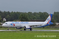 A321-231 VP-BSW URAL AIRLINES (shanairpic) Tags: jetairliner a321 airbusa321 shannon iac eirtech uralairlines vpbsw eifxs