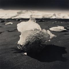 17 - Jokulsarlon Four (Wilfbiffherb) Tags: iceland landscape fine art black white monochrome medium format ilford ilfordphoto 120 square bronica sqa ethol lpd multigrade ice jokulsarlon