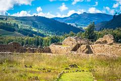 The ruins of Wirocochapampa, near Huamachuco, Peru.