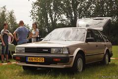 1985 Nissan Bluebird 2.0 Wagon (NielsdeWit) Tags: nielsdewit youngtimer event doetinchem nn90fs nissan bluebird 20 wagon