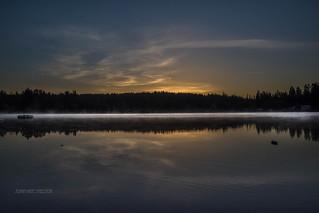 Morning Cottage Lake
