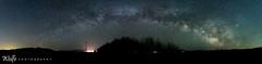 Milky way over Bridgeport