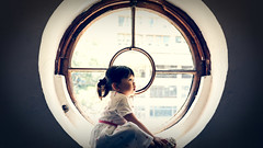 Window 🔵 (Gisele Yuen) Tags: portraits kids childs baby absolutelyperrrfect