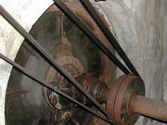 vecchia turbina idro Vaiano (PO)