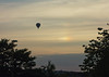 Voyaging to the parhelion (The^Bob) Tags: england somerset balloon hotair parhelion sundog voyage ice halo refraction prism