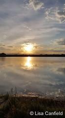 May 31, 2017 - Sunset at McKay Lake. (Lisa Canfield)