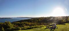 Autumn in Sydney (LSydney) Tags: panorama sydney sun northhead harbour sydneyharbour