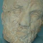 RODIN Auguste,1864 - Homme au Nez Cassé, Terre Cuite estampée avec coutures (Musée Rodin) - Detail 12 thumbnail