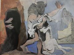 Musée Picasso (Fontaines de Rome) Tags: paris musée pablo picasso exposition olga minotaure jument morte grotte jeune fille voile