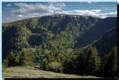 """L'impressionnant """"cirque"""" de la Martinswand (jamesreed68) Tags: montagne gorge martinswand hohneck ciel nuages 88 68 vosges altitude alsace hautrhin paysage nature france grandest arbres canon eos 600d"""