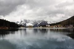 Lake Misurina (Atilla2008) Tags: italy dolomites misurina grey reflections dolomiti d90 nikon