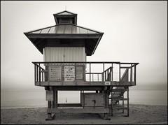 Lifeguard Tower (Réal Filion) Tags: