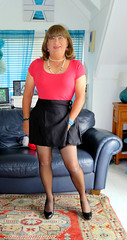 "Skirt (Trixy Deans) Tags: crossdresser cd cute crossdressing crossdress classy shemale hot highheels heels heelssexy heels"" skirts shortskirt shortskirts stockings stilettoheels tgirl tv transvestite transgendered transsexual tgirls trixydeans transvesite tranny"