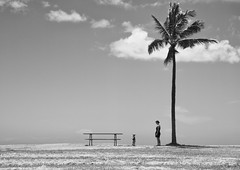 New challenges (rojasdoyharcabal) Tags: hawaii beach bnw blackandwhite monochrome people landscape