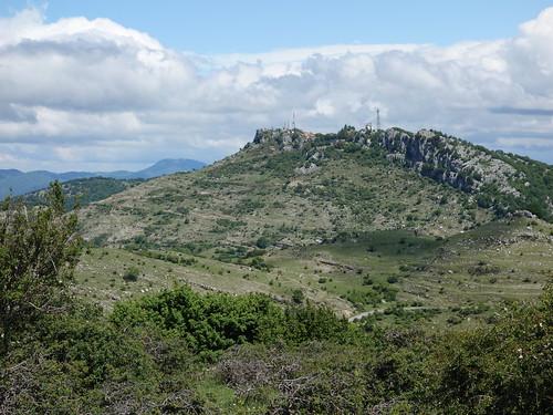 Monte Guadagnolo from Monte Calo