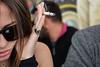 Dal lato sinistro - From the left side. (sinetempore) Tags: dallatosinistro fromtheleftside viso volto ritratto face portrait ragazza girl donna woman sigaretta cigarette fumo smoke