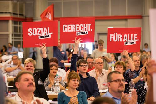 Sozial. Gerecht. Für alle. Bundesparteitag DIE LINKE