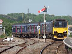150121 & 150106 St Erth (Marky7890) Tags: gwr 150121 150106 class150 sprinter 2a37 sterth railway cornwall stivesbayline train